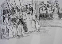 Alaa Awad - drawing