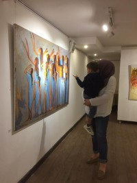 Exhibition of artist Alaa Awad - The West Bank in Cairo / Egypten 2018