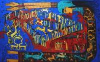 Alaa Awad painting