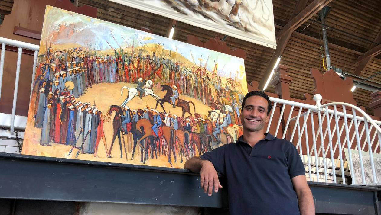"From 01 to 23 September 2018, he has the Exhibition ""EL TAHTIB"" in Haras National de Lamballe - France."