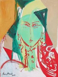 Alaa Awad - Painting 2017