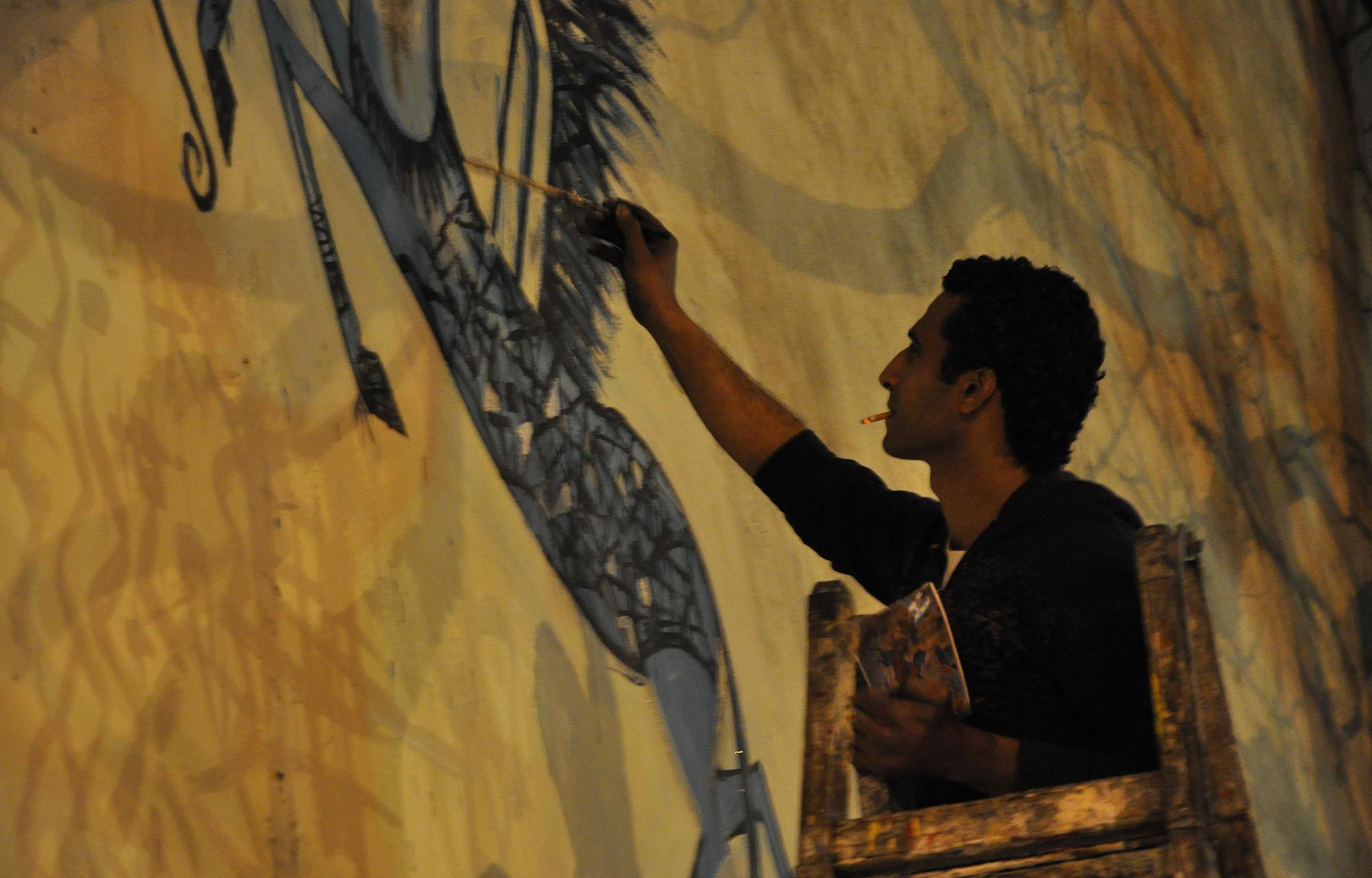 Alaa Awad - Mural - Cairo - 2012 - alaa-awad.com