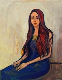 Alaa Awad - painting - Basmala