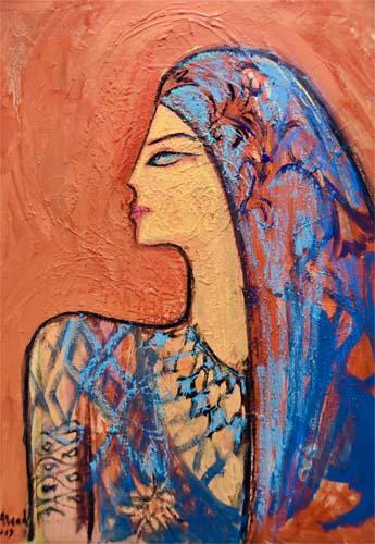 alaa awad - the artist - علاء عوض - painting
