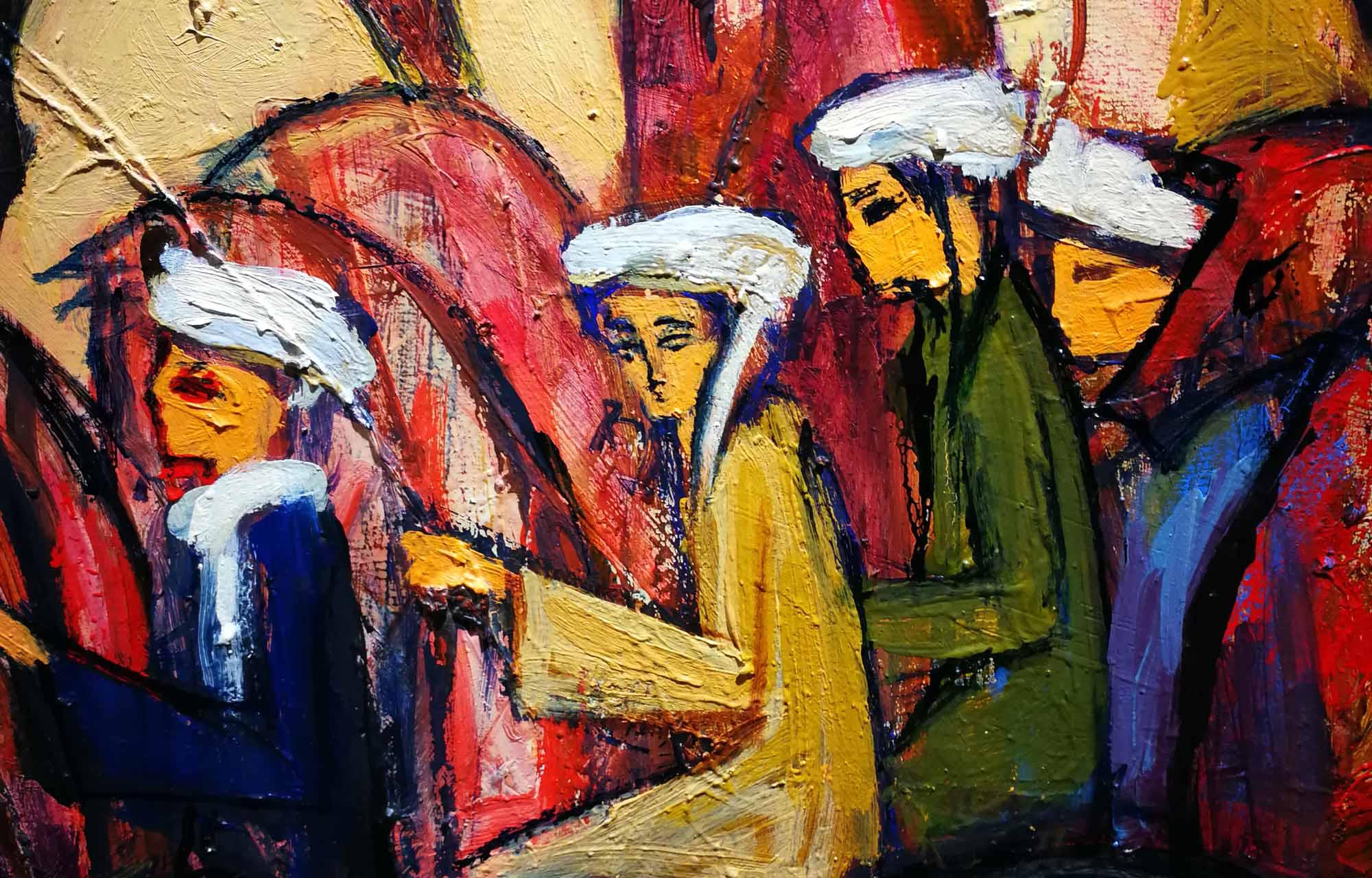 Alaa Awad - painting