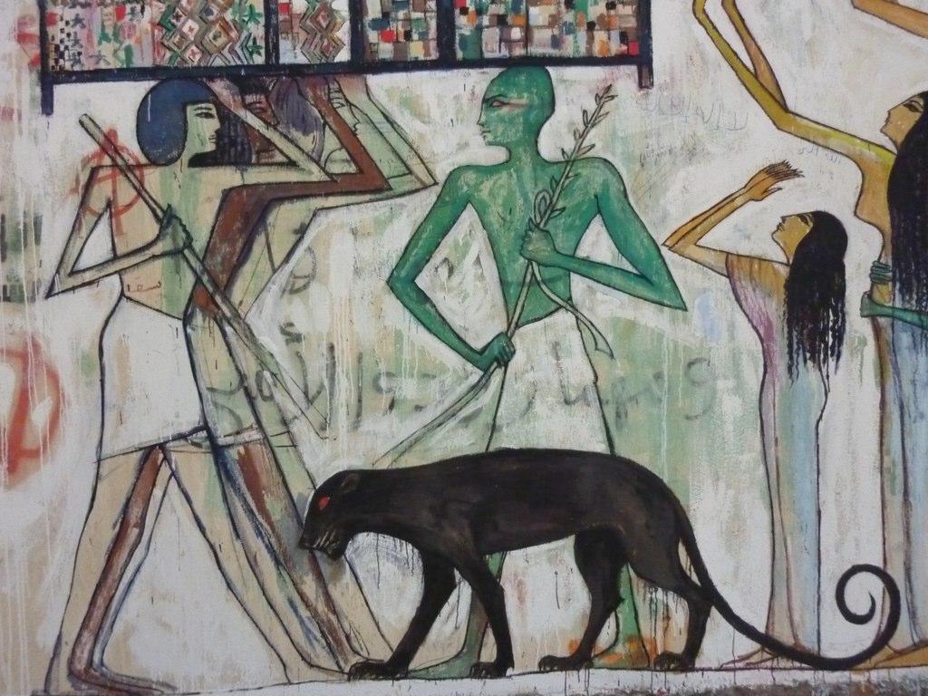 Alaa Awad - Mural - Cairo / Egypt
