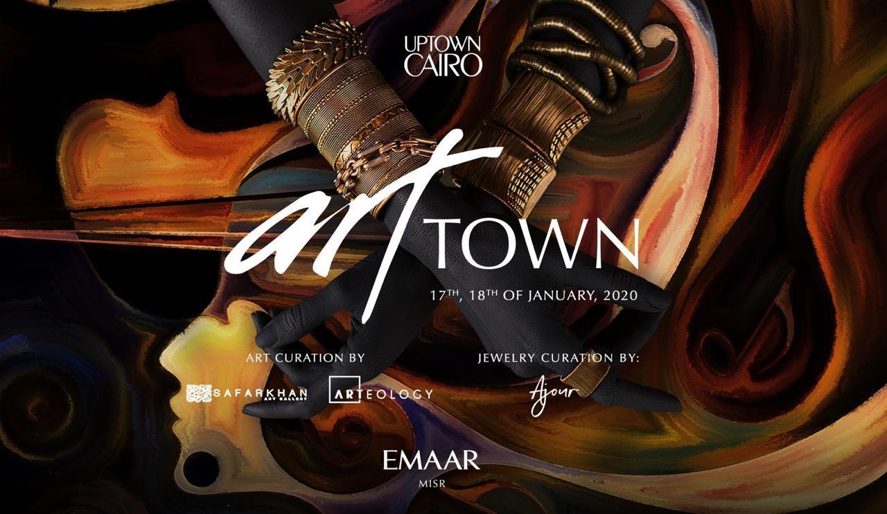 Exhibition - Artist Alaa Awad - art TOWN Caoro 2020